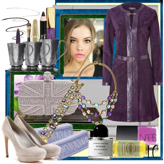 """""""This Just In PLUM is In Fashion Set"""" by linda caricofe on Polyvore"""
