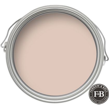 Setting Plaster pink. A gorgeous sophisticated dusty pink paint for walls. Farrow & Ball Estate No.231 Setting Plaster. 10 Romantic Tranquil Pink Paint Colors & Pretty Finds! #paintcolors #pinkpaint #interiordesign