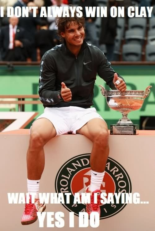 Nadal On Clay Tennis Players Rafael Nadal Mens Tennis