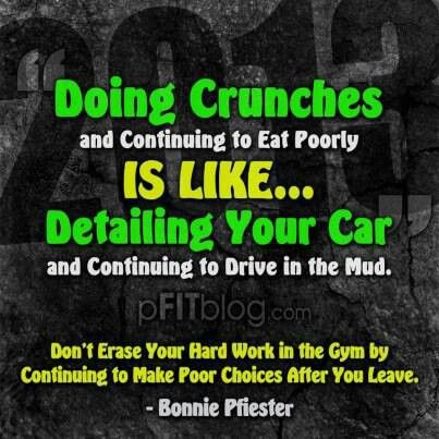 Don't erase all your work!! #LifestyleChange
