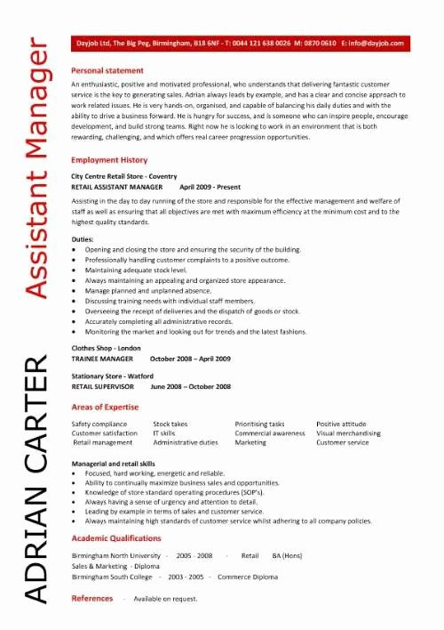 Assistant Store Manager Resume Inspirational Assistant Manager Skills Resume In 2020 Manager Resume Job Resume Samples Resume Examples