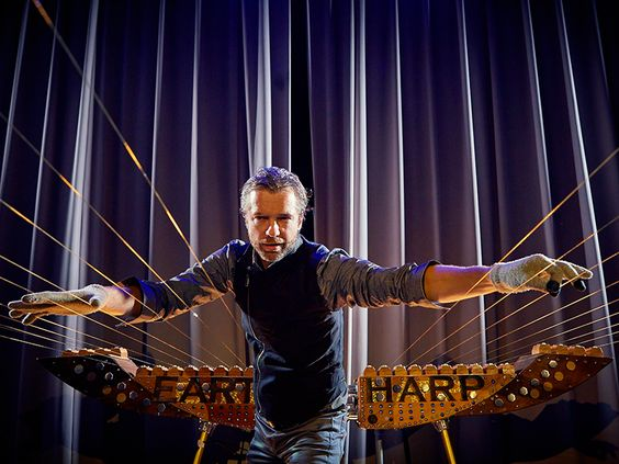 Spanning the entire length of the Royal Theater on Quantum of the Seas, the Earth Harp will bring the theater to life.