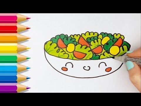 Ensalada Youtube Kawaii Dibujos Kawaii Faciles Como Dibujar