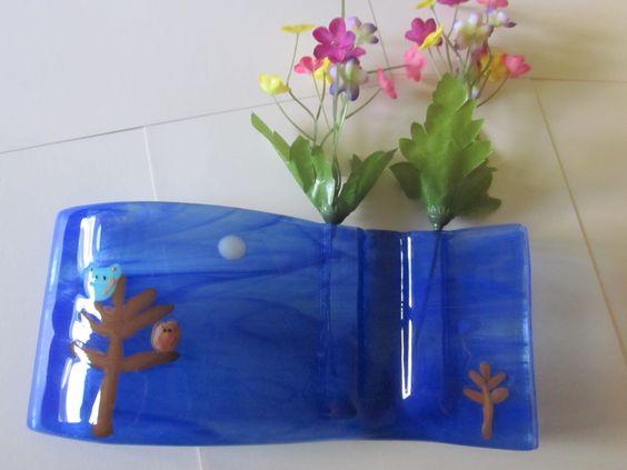 owl pocket vase www.ebay.com/usr/mattsglassact