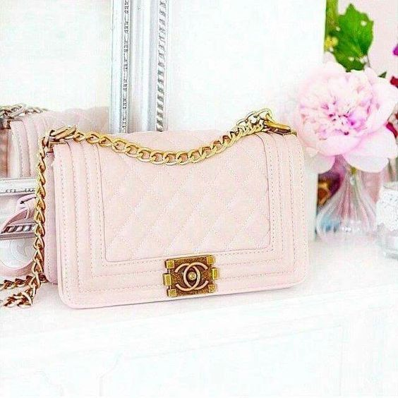 Channel pink purse