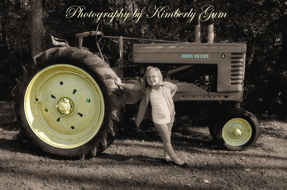 Even girls like Tractors! https://www.facebook.com/PhotographybyKimberlyGum