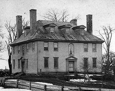 old new england homes Old house plans and design ideas from