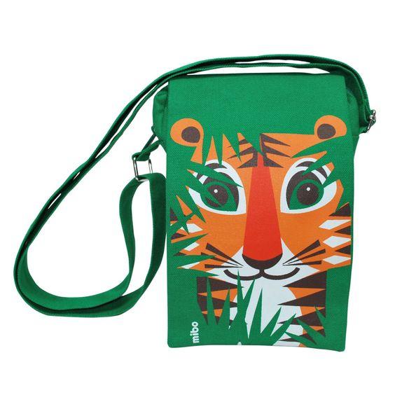 Umhängetasche Mibo Tiger grün rund: Amazon.de: Spielzeug