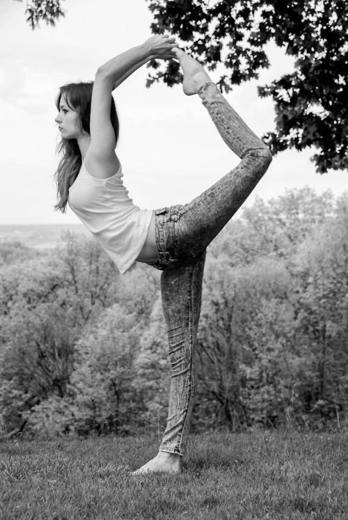 Beginner yoga pose
