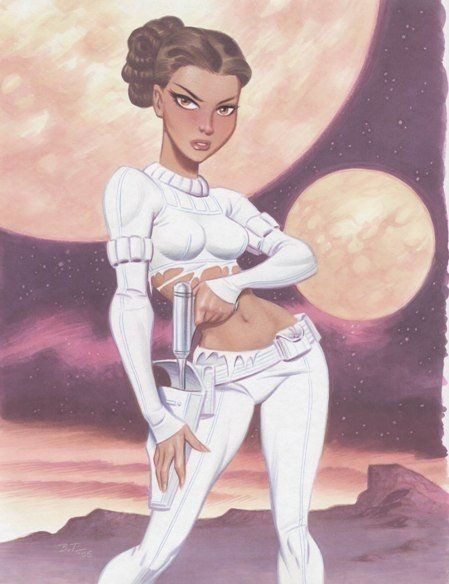 Padme by Bruce Timm