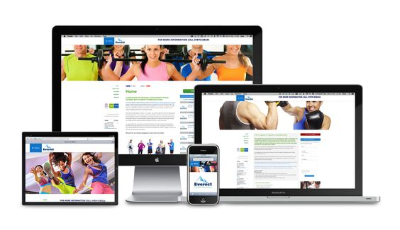 Everest Fitness Education invited us to design their new website. A responsive layout, so renders equally as good on all screen sizes including mobile devices for ease of use.   Clean lines, easy to navigate and a collection of carefully chosen vibrant images adds to the quality of the information. Database, Payment links for the courses, Events Calendar, Social Media and some neat animated tricks gives the visitor an informative and visual site to visit.