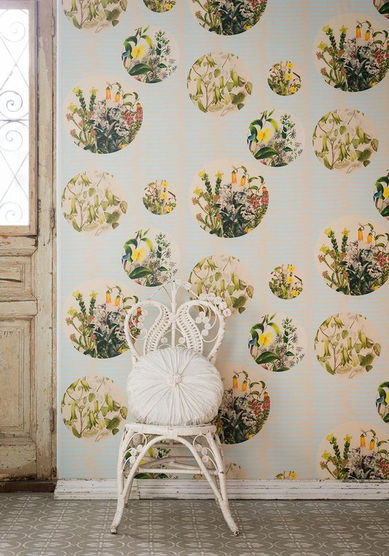 A wallpaper collection created using the beautiful work of flower painter, Euphemia Henderson (1822-1908).