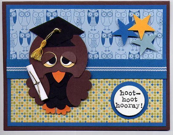 Stampin' Up!  Round Tab Punch  Julie Arvin  Owl Punch Art