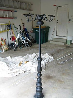 Guest Project -- DIY {Halloween} Candelabra