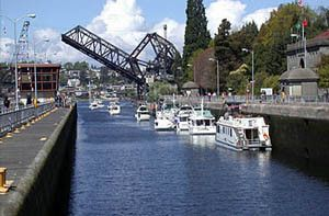 Seattle 101: Four Fun Things to Do in Ballard. Plus links to the other districts in Seattle and activities. 1.) The Ballard Locks 2.) Golden Gardens Park 3.) Museums & Galleries 4.) Boutiques