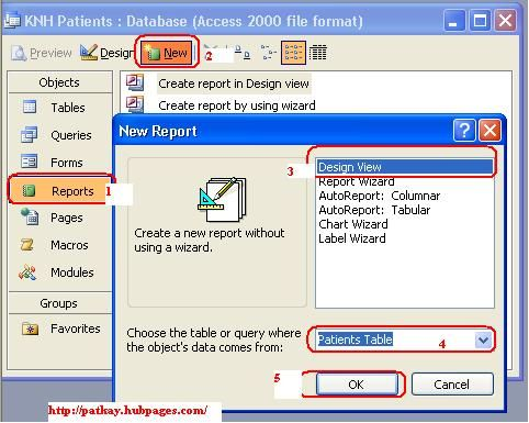 How To Create Reports Using Microsoft Office Access