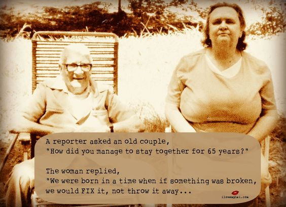How did you manage to stay together for 65 years? - I Love My LSI