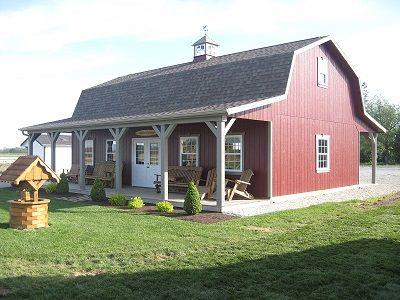 Dutch Barns And Amish On Pinterest
