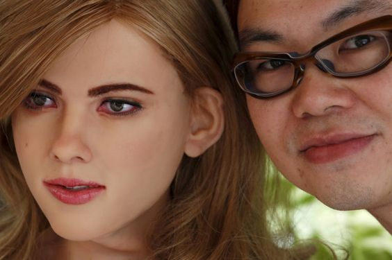 Man With Totally Normal Relationship To Human Women Builds Scarlett Johansson Robot