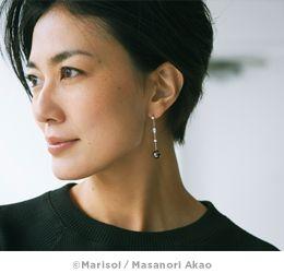 横顔美人板谷由夏さん