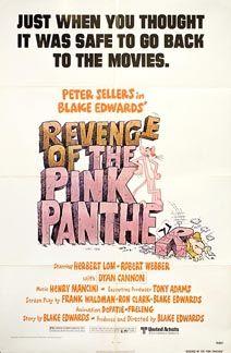 Posteritati: REVENGE OF THE PINK PANTHER 1978 U.S. 1 sheet (27x41)