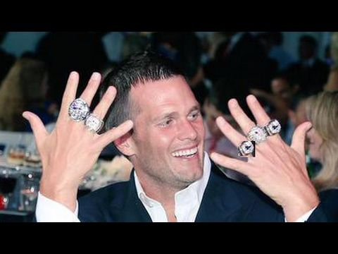 Tom Brady Commercials Click On Pic Then Click On Full Screen In Lower Right Corner To Watch In Ful Super Bowl Rings Tom Brady Rings Michigan Football Funny