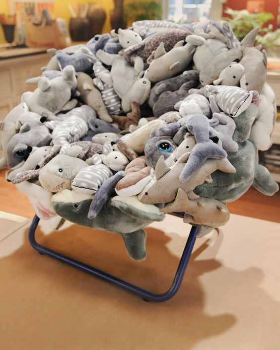 """Upcycle or recycle old stuffed animals or Beanie Babies with a children's chair craft from Kelly Behun on """"The Martha Stewart Show."""""""