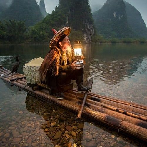If you would have one wish for free it would be... #asia #travel #cozy #aesthetic #goodvibes #light #water #nature #river #moodboard #calm…