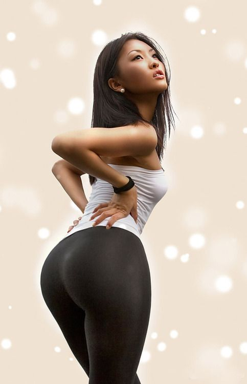 Sexy asian girls with big booty