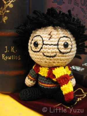 podkins:    Harry Potter Amigurumi  — so cute and round!  Source: Little Yuzu:
