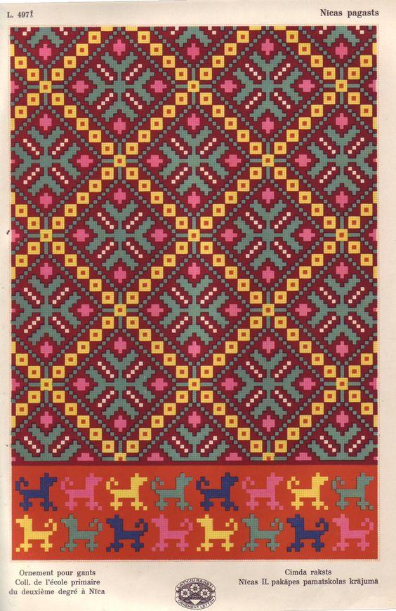 Latvian design   TAPESTRY/WAYUU   Pinterest   Beautiful, Tejido de ...