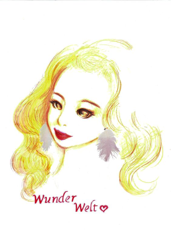 Dream Bird Feather earrings One ¥ 2,490 http://www.wunderwelt.jp/products/list2431.html