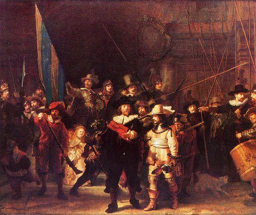 Rembrandt: Nachtwache