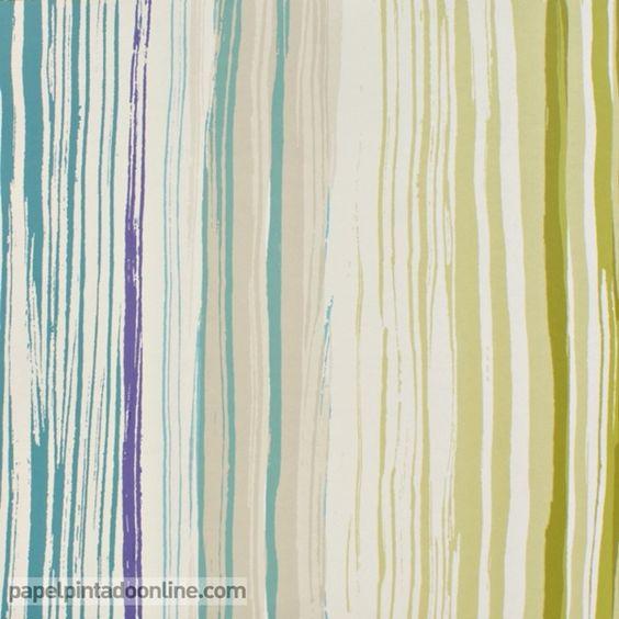 Papel pintado spirit soul 110824 papel de rayas - Papeles pintados rayas verticales ...
