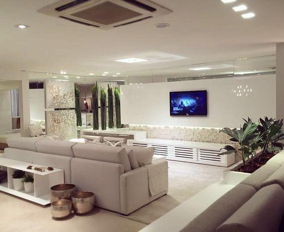 Sala de TV e estar