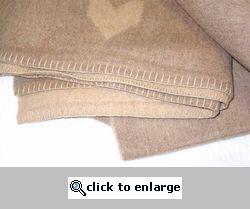 Swedish Officer's Reversible Wool Blanket
