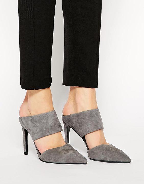 Trendy Mule Heels