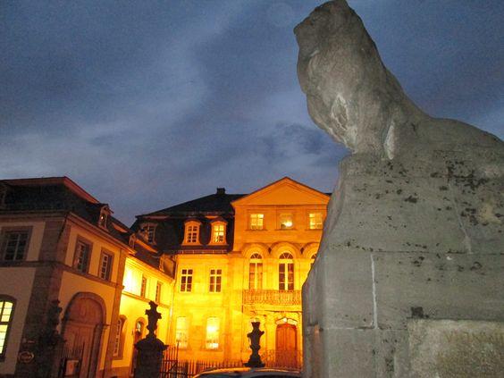 Lauterbach  Der Löwe vorm Hohausmuseum