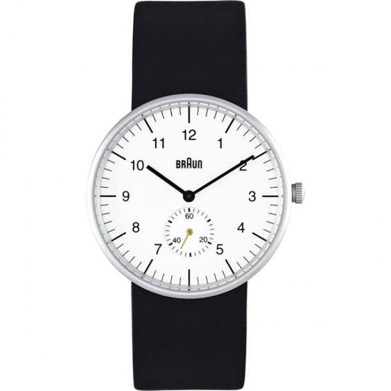 Braun Watch White