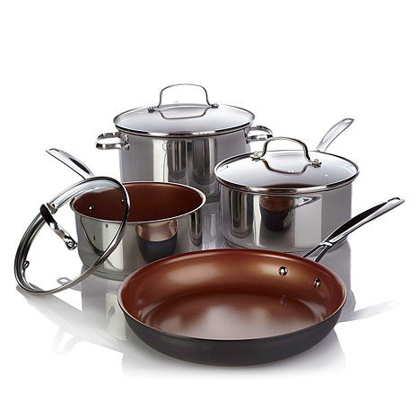 Shop Ming Tsai NuWave Ceramic-Nonstick Induction-Ready 7-piece Wow Cook Set, read customer reviews and more at HSN.com.