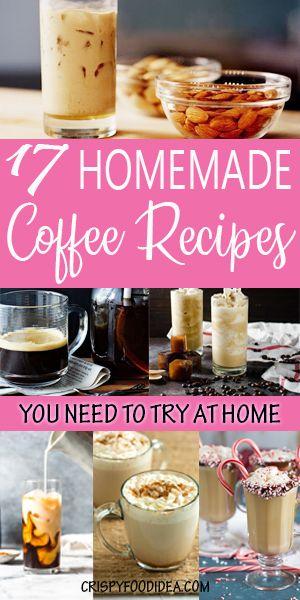 easy coffee recipes