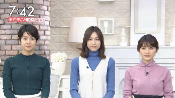 ニュース番組の夏目三久さん
