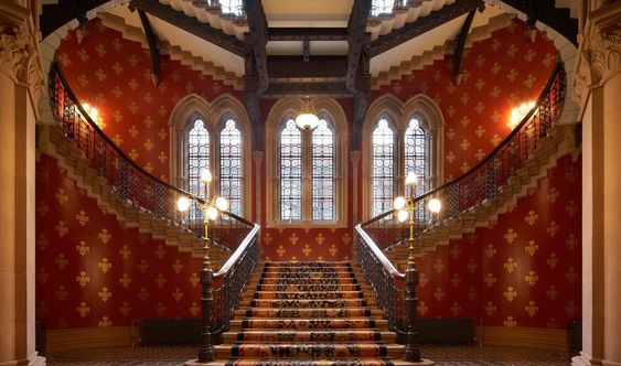 The Grand Staircase: