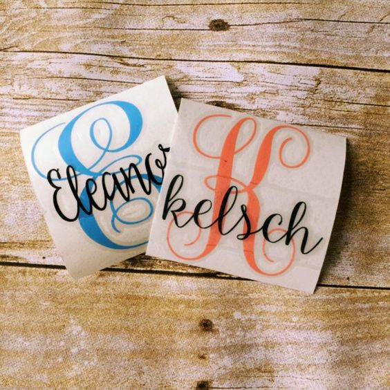 Pinterest o the worlds catalog of ideas for Letter decals for cups