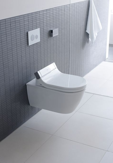 Wall Hung Duravit Starck 3 Wall Hung Toilet Suite With Sensowash