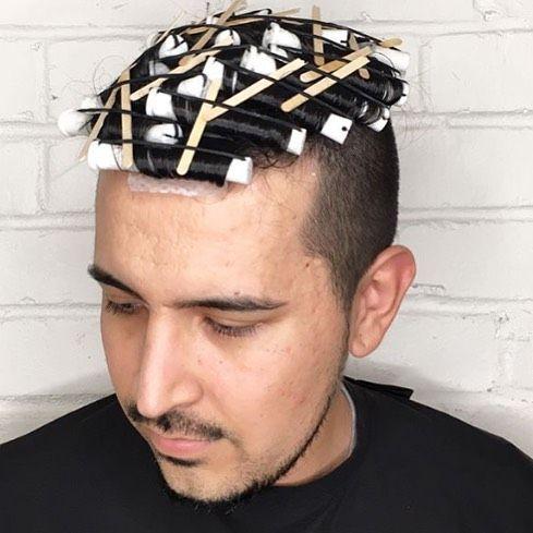 Permanente Homme Permanente Cheveux Permanente Homme Coiffure Homme