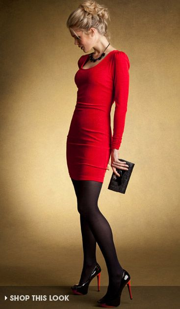 Formal Dress With Tights Christmas Dress | Styl...