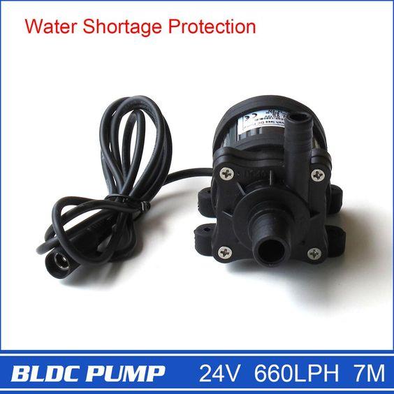 $21.99 (Buy here: https://alitems.com/g/1e8d114494ebda23ff8b16525dc3e8/?i=5&ulp=https%3A%2F%2Fwww.aliexpress.com%2Fitem%2F12V-Submersible-Pump-DC-for-CPU-Cooling-Car-Washing-Bidets-Jacuzzi-Bath-Humidifier-132GHP-5m-Solar%2F580445345.html ) Brushless DC Pump 40-2470, 1pcs 24V 660LPH 7M, Magnetic Drive Centrifugal Submersible Water Pump, for CPU Cooling for just $21.99