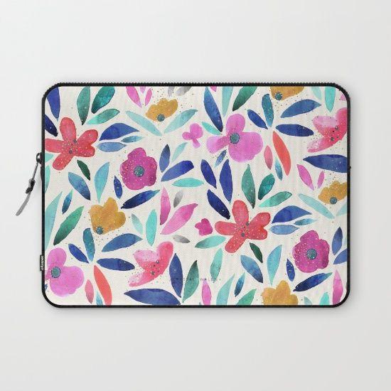 Ohana Flower by Crystal Walen, $36. https://society6.com/product/ohana-flower-p83_laptop-sleeve?curator=bestreeartdesigns