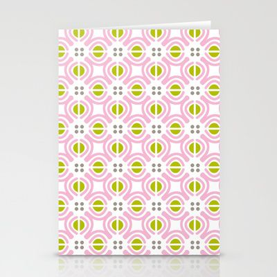 Retro Floral Stationery Cards by Joanne Paynter - $12.00